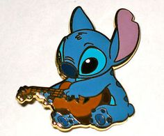LE-Disney-Pin-Lilo-Stitch-Movie-Naughty-Nice-Ukelele-Guitar-Elvis-Music-Rare