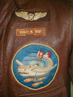 The Jolly Rogers - 90th Bomb Group - Moby Dick 320 Bomb Squadron patch