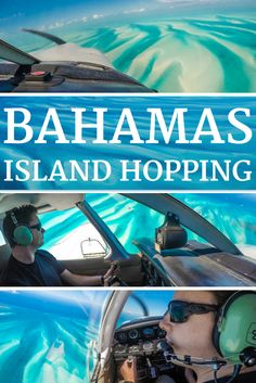 The ultimate Bahamas Vacation: Island Hopping the Bahamas by Plane. The Bahamas out islands are a true Pilots Paradise. With proximity to USA Florida, the Bahamas is easily accessible and convenient for American visitors or pilots. Join us on our epic week long adventure flying across the Bahamas with stops in Eleuthera at Harbour Island, Long Island, Staniel Cay's swimming pigs, Exuma Pigs, Cat Island, Exuma, San Salvador and Abaco Island.