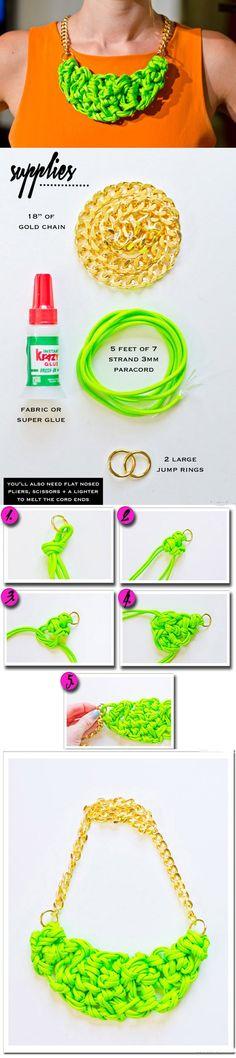 15 Necklace DIYs