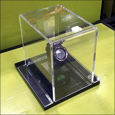 Pro-Trek Wristwatch Clear Museum Case,