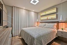 Apartamento ES por Luciana Ribeiro Arquitetura | homify Bed, Furniture, Home Decor, Good Ideas, Log Projects, Arquitetura, Houses, Decoration Home, Stream Bed