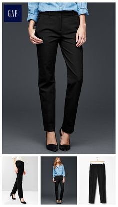 pants 4/professional occasion///True straight pants