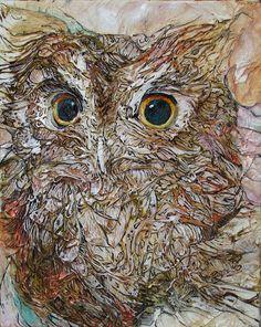 """Owl"" par Col Mitchell"
