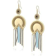 Danielle Nicole Moon Goddess Drop Earrings
