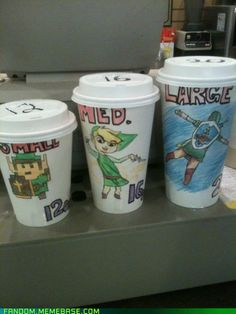 fanart & cosplay - Can I Have a Skyward Sword Latte? DEAR SWEET BABY JESUS YES!