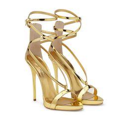 9f212f90 Mujer Zapatos PU Primavera / Verano Confort / Innovador Sandalias Paseo  Tacón Stiletto Puntera abierta Hebilla Dorado / Plata / Boda / Fiesta y  Noche ...