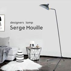 SergeMouilleセルジュ・ムーユデザイナーズ照明リプロダクト三脚スタンドライト北欧デンマーク男前照明黒