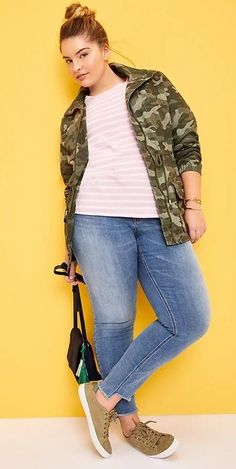 Plus Size Spring Outfit- Plus Size Fashion for Women #plussize