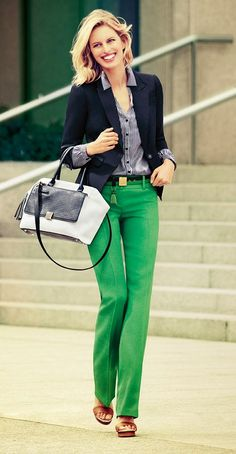 Women's fashion | Spring work attire