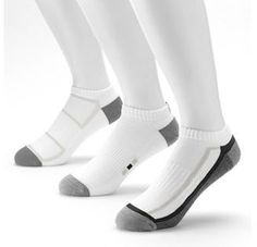 Men's Tek Gear® 3-pk. Performance Low-Cut Socks