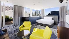 1888 Hotel, housed in a former wool store and set on Darling Harbour, seamlessly blends old and new – and all at a budget-conscious price.   - HarpersBAZAAR.com
