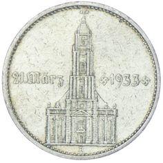 5 Reichsmark Garnisonskirche mit Datum 1934 A