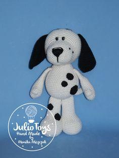 crochet dog Dalmatian PDF pattern