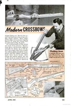 #ClippedOnIssuu from Build a metal crossbow using a leaf spring plans