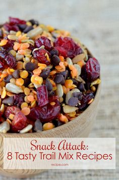 Snack Attack: 8 Tasty Trail Mix Recipes