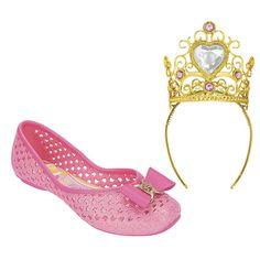 Grendene Kids - Disney Princesas *Design do Acessório: Coroa