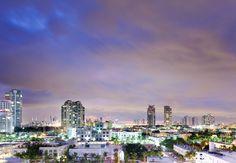 En el Marriott Stanton South Beach en Miami no importa si tienes vista al mar or vista de la ciudad, las dos son bellas.