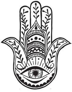 Tatuaje Temporare INKD Hamsa - Tatuaje designeri pe Outliers.ro