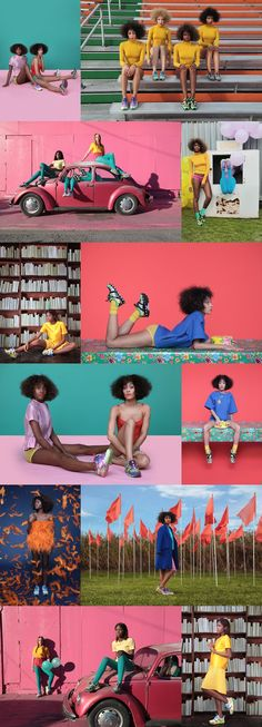 Puma x Solange - creative concept & art direction by Solange Knowles Photography by Alan Ferguson