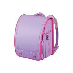 Japanese Randoseru Backpack Violet Purple WPGMAF Sumire Japan 16 Back... ($399) ❤ liked on Polyvore featuring bags, backpacks, violet bags, purple backpack, knapsack bags, rucksack bag and purple bag