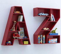 Ideas para el Almacenamiento de los Juguetes en las Habitaciones Infantiles : Infantil Decora