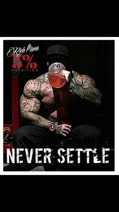 Never Settle # # percenter - Musculation Extreme Workouts, Fun Workouts, Muscle Fitness, Muscle Men, Best Fitness Programs, Stories Of Success, Natural Bodybuilding, Gym Quote, Bodybuilding Motivation