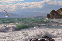I like Pictures Fantasy Landscape, Landscape Art, Landscape Paintings, Ocean Artwork, Ocean Pictures, Landscape Photography Tips, Sea Photo, Sea Waves, Seascape Paintings