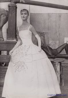 Fabiani Evening Gown, 1955