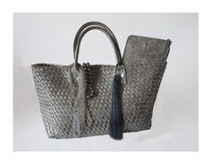"""Silver Shopper Bag"" by ladieswishlist on Polyvore"