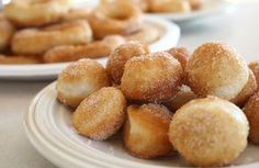 Semi-Homemade Donuts Homemade Donuts - Sounds and looks good, wonder if it would work with bisquick biscuit mix. ready to find out. i know my kids would love them. Biscuit Donuts, Biscuit Mix, Donuts Donuts, Delicious Desserts, Dessert Recipes, Yummy Food, Donut Recipes, Cooking Recipes, Yummy Recipes