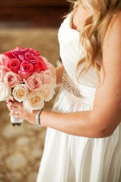 pink ombre bouquet | photography by http://www.heythere-cupcake.com/