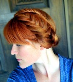How to Fishtail Braid Crown