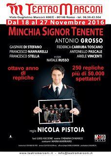 Claudia Grohovaz: MINCHIA SIGNOR TENENTE  di Antonio Grosso al Teatr...