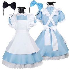Halloween Women Adult Anime Alice In Wonderland Blue Party Dress Alice Dream Women Sissy Maid Lolita Cosplay Costume. Category: Novelty & Special Use. Product ID: Lolita Cosplay, Alice Cosplay, Maid Cosplay, Cosplay Dress, Costume Dress, Cosplay Costumes, Maid Costumes, Blue Costumes, Fancy Costumes