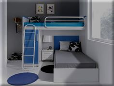 camas, literas, trenes, juveniles, glicerio chaves hornero, composicion 20807
