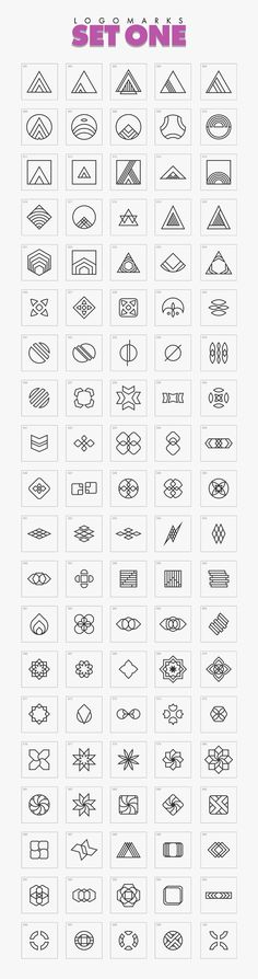 1000 Geometric Logo Marks Bundle by Varna Works on … – Graphic Design Ideas Typography Design, Logo Design, Graphic Design, Lettering, Design Design, Design Ideas, Geometric Logo, Geometric Designs, Koch Tattoo