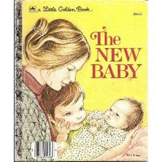 I loved this book when I was kid.  I bet my parents got it to prepare me for my new sister.....tricky!!