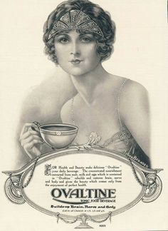 1920s ad for Ovaltine
