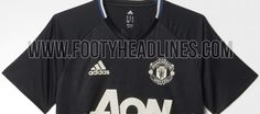 Primera foto de la camiseta de entrenamiento del Manchester United 16-17