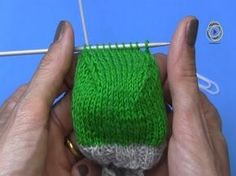 Project: Socks knitting the heel cap part - Stricken Knitting Patterns Free, Knit Patterns, Free Knitting, Knitting Socks, Baby Knitting, Knit Socks, Knitted Booties, Knitted Hats, Jumbo Yarn