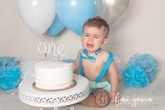 It's my party and I'll cry if I want to...Safe to say Brady was not a fan of his cake :) #ctphotographer #ctcakesmashphotographer #boycakesmash #babycakesmash #babyphotography #itsmypartyandillcryifiwantto