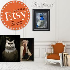 New ! My Etsy is now open. offer you my best portraits (in inch or in centimeter) on https://www.etsy.com/fr/shop/StarAnimalstore