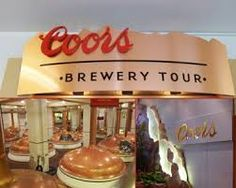Coors Brewery! I've never been (gasp!) but they say there's a giant brewery right here that uses real Rocky Mountain spring water. Tours are available to all at Coors.