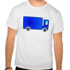 Blue toy truck lorry t-shirt sweatshirt