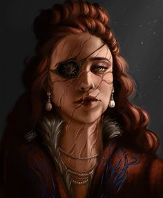 """Helena Horta- DTIYS ongoing 🎉 on Instagram: """"The Tailor. RoW spoiler: """"Do not speak of costs"""" Her voice rang through the clearing, her red hair burning like autumn fire. The patch she…"""""""