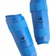TOKAIDO Shin Protectors, or Shin Guards are made to the highest standards. Made from polyurethane, with an artificial leather coating, this ensures ease of care for the product along with providing the protection you require.  WKF Approved Anatomically shaped foam core Three wide, adjustable elastic straps East to clean Water/sweat repellent