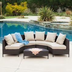 Found it at Wayfair - Eta 5 Piece Deep Seating Group with Cushions