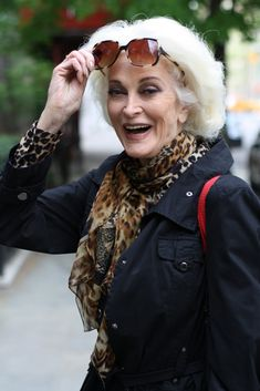 Carmen Dell'Orefice ...wow, she's stunning.