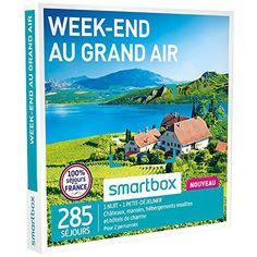 SMARTBOX – Coffret Cadeau – WEEK-END AU GRAND AIR – 285 SÉJOURS : Châteaux, manoirs, hébergements insolites et hôtels de charme